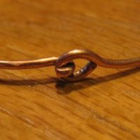 Mountain Bangle Copper