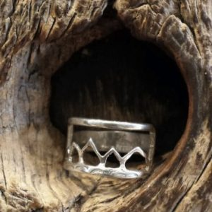 Teton Mountain Range Ring