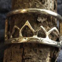 Teton Mountain Range Ring