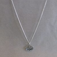 Sterling small original Teton pendant