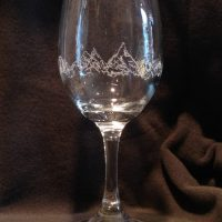 Mountain Wineglass
