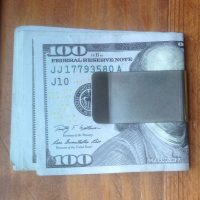 Mountain Ridgeline Money Clip