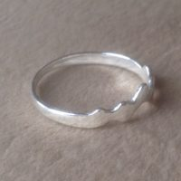 Mountain Ring Textured