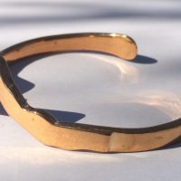 Cuff Bracelet in Brass The Original Teton Bracelet