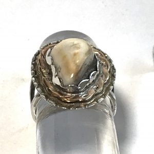 Elk Ivory ring Photo