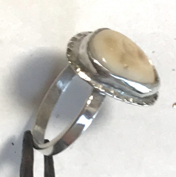 Elk Ivory ring Photo 2