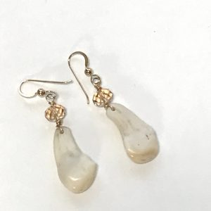 Photo of Elk Ivory earrings